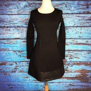 Julie Brown Long Sleeve Dress, Size 2P